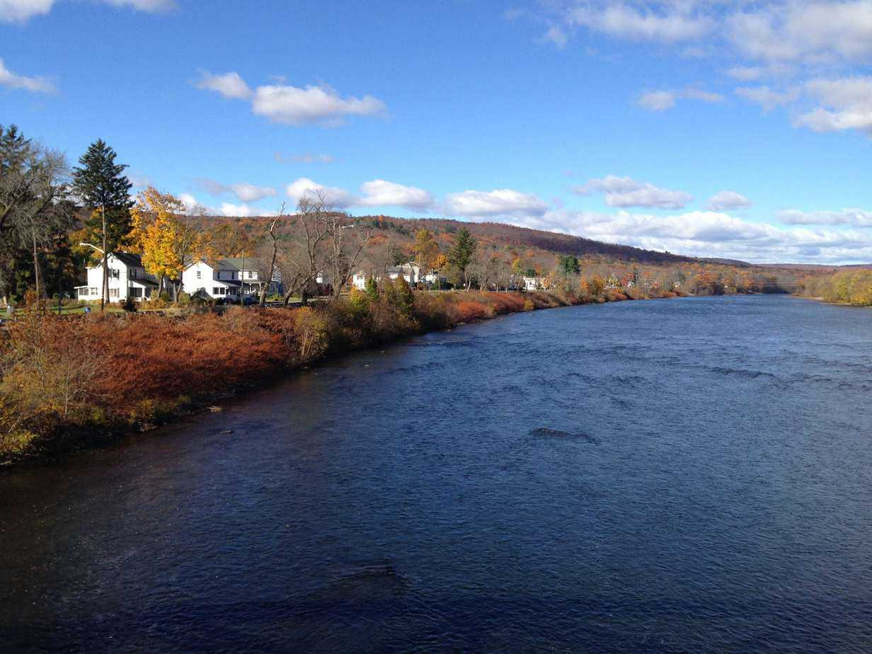 Matamoras, Pa., on the Delaware. PHOTO BY MEG MCGUIRE