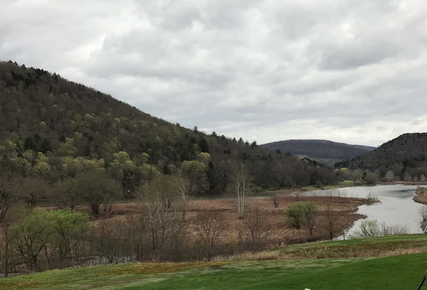 The Delaware River just south of Hancock, N.Y.  PHOTO BY MEG MCGUIRE