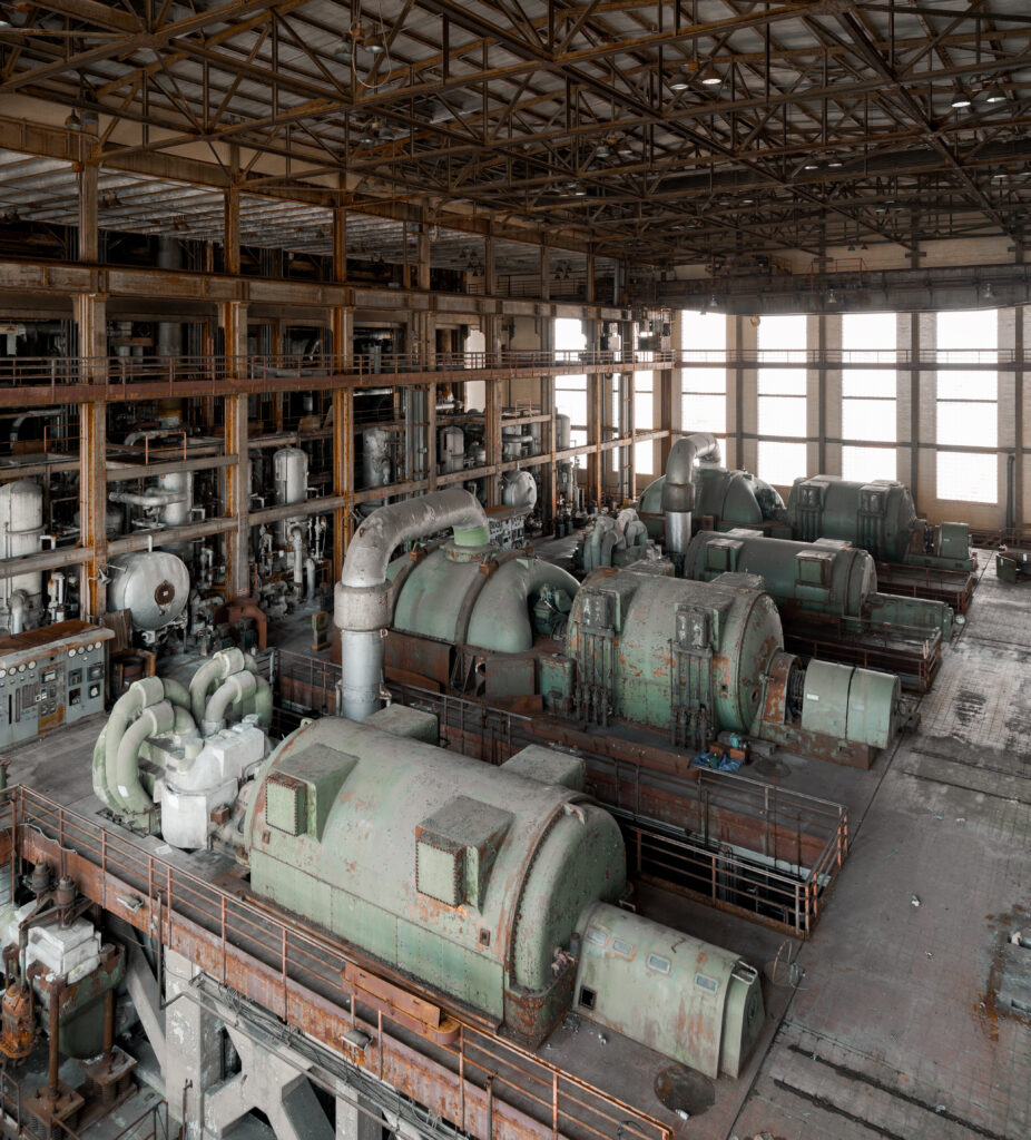 Southwark Generating Station was built in the 1940s.