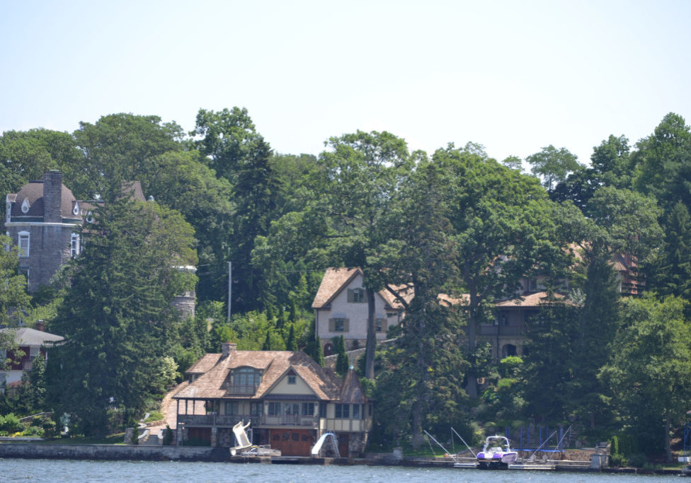 """One of the original """"summer cottages"""" on Lake Hopatcong is The Castle on Edgemere Avenue in Mount Arlington. PHOTO BY JANE PRIMERANO"""