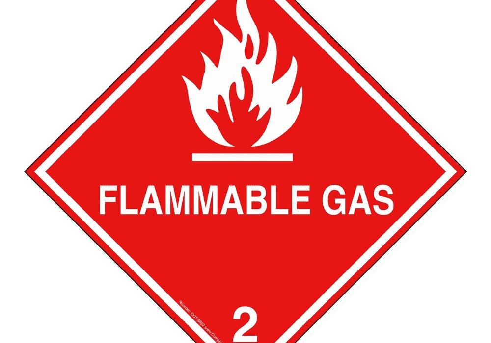 Liquified natural gas leaking from a breached container can be extremely flammable and easily be ignited by heat, sparks or flames.